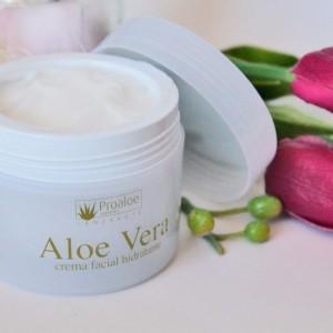 Crema facial hidratante Aloe Vera 100ml