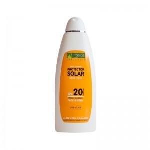 Protector Solar Aloe Vera SPF 20 400ml