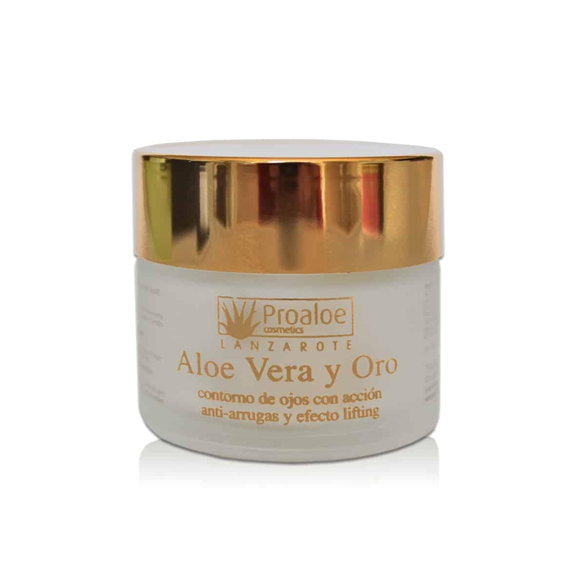 Aloe Vera y Oro