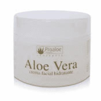 Crema Facial Hidratante Aloe Vera